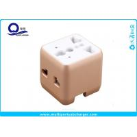 Mini Portable 220 Volt To 110 Volt USB Travel Adapater Converter OEM Logo Printing Manufactures