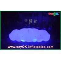 China 12m Long Giant Inflatable Balloon LED Helium Cloud With With 0.2mm PVC For Event for sale