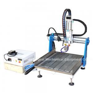 Gantry Moving Desktop Aluminum CNC Router Machine with DSP A11E Offline Control Manufactures