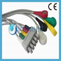 Quality GE Healthcare Compatible 3 lead ECG Leadwire - S2424557; Reusable EKG Cable with leadwires for sale