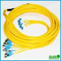 CATV System Fiber Optic Patch Cables With PC / UPC / APC Connectors Manufactures