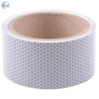 China Truck Retro DOT Reflective Tape Self Adhesive High Intensity Solid White PET Material on sale
