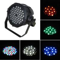 Rgbw 4 Color Outdoor Led Par Lights 4 / 8CH With Aluminum Alloy Casing Manufactures