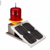 Red LED Aviation Obstruction Lights , Red Flashing lamp Professional Manufactures