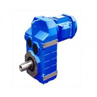 F series Worm Gear Reducer Helical Bevel Geared Motors / Helical- Belvel Manufactures
