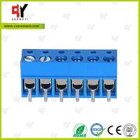 HQ300-5.0 PCB Terminal Block 5.0 Wire Range 22- 14 AWG , Connector Terminal Block Manufactures