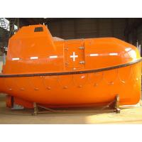 15-25 Persons 5.0M Totally Enclosed Life Boat With 50KN Gravity Luffing Arm Type Davit & 42KN Electric Boat Winch Manufactures