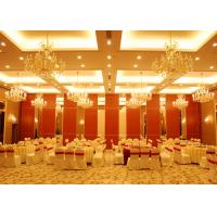 Conference Room Folding Partition Walls Customers Own Material Finish for sale