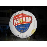 Customized Inflatable Advertising Balloon , LED Light Inflatable Helium Balloon Manufactures