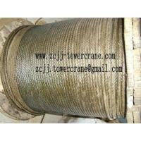 Tower Crane Wire Rope, 35W*7 Manufactures