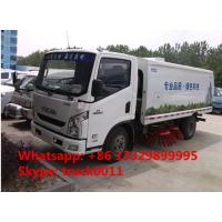 China high quality and best price IVECO yuejin brand road sweeper truck for sale, hot sale YUEJIN brand road sweeper truck for sale