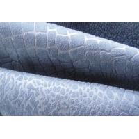 Embossed Satin Suede fabric for sofa Manufactures