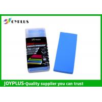 China Blue Color Car Wash Mitt , Microfiber Cloths For Car Cleaning Polishing HO0310 on sale