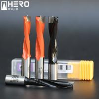 Carbide Step Brad Point Drill Bits , Wood Boring Drill Bits High Wear Resistance Manufactures
