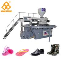 China One Color PVC Crystal Plastic Shoes Making Machine With Oil Pressure Circuit Design on sale