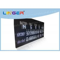 Multi Purpose LED Baseball Scoreboard Remote Control With Time Function Manufactures