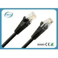 China RJ45 Copper Network CAT5E UTP Patch Cord For Telecommunication Network System on sale