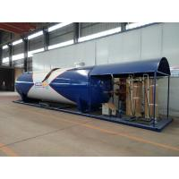 Lpg Skid Station LPG Gas Storage Tank Completed Lpg Bottling Plant Equipments 40cbm With Scales Manufactures