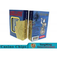 Special Design Custom Plastic Playing Cards For Casino Games Dedicated Manufactures