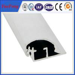 Best prices aluminum poster clip extrusion profile Manufactures