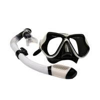 Scuba Diving Kit Swimming Goggles With Breathing Tube Customized Logo Printing Manufactures