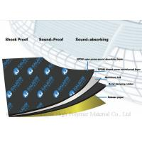 EPDM Black High Density Heat Insulating Mat Soundproof Thermal Insulation Mat Manufactures