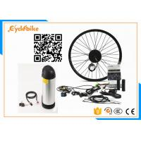 Popular Womens Electric Bike Kit , Front Wheel Electric Conversion Kit For Bicycle Manufactures