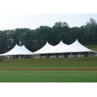 China 18 * 24M High Peak Pole Tent , Waterproof PVC Roof Custom Party Tents on sale