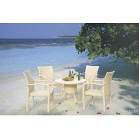 China Stylish Elegant UV Philippine Dining Table Set Indoor / Outdoor Furniture for Living Room , Hotel on sale