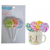 Fancy promotional  lollipop erasers Fancy promotional gift purposes multiple colors lollipop erasers Manufactures