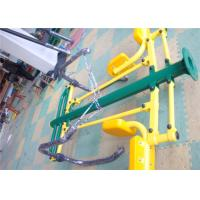Quality HDPE Plastic Exercise Playground Equipment , Outdoor Park Gym Equipment for sale