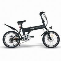 200W Motor Foldable Electric Bike with 24V/8Ah Lithium Battery and 970mm Wheelbase Manufactures