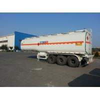 China 315 / 80R22.5 Fuel Tank Trailer Tubeless Tyre CIMC Fuel Tanker Truck Trailer on sale