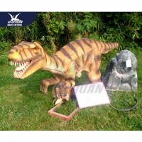 China Windproof Realistic Dinosaur Models Life Size In Jurassic Theme Park 110vac on sale