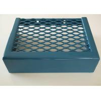 PVC Spraying Aluminum Expanded Metal Mesh Durable Strong With Diamond Holes Manufactures
