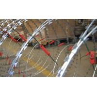 Custom Security Single Coiled Razor Wire High Protection Neat Appearance Manufactures