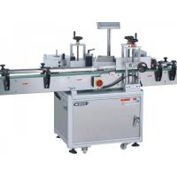 Vertical Round Bottle Automatic Labeling Machine High Stability For Medicine / Cosmetics Manufactures