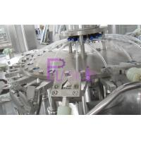 3 In 1 Monoblock Plastic Bottle Filling Machine For Mineral Water 18 Head Manufactures