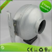 China Professional 220V AC Centrifugal Circular Inline Duct Vent Fan UL Approval on sale