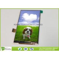 Quality 4.0 Inch 480 * 800 IPS Full Veiew TFT LCD Panel MIPI Interface Portable Navigation Display for sale