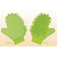 Household Green chenille wash mitt Cleaning Tools in Kitchen for Promotional Manufactures