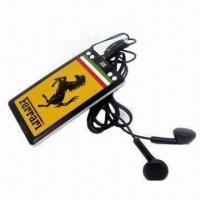 Best Selling Card MP3 Music Player, 320mAh Lithium Battery, Supports 1 to 4GB