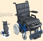 Standing steel  Power Electric wheel chair with driving & moving up seat Manufactures