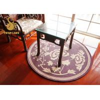 Quality Eco Friendly Round Oriental Rugs Non Slip Area Rugs For Bedroom Round Oriental Rugs for sale