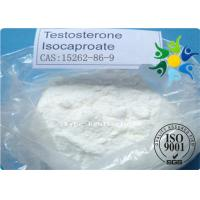 CAS 15262-86-9 Testosterone Anabolic Steroid Raw Powder Test Isocaproate Manufactures