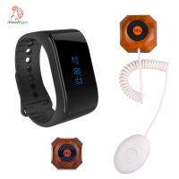 china wireless clinic nurse call system with nurse watch pager and patient bed