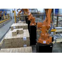 Automatic Robot Palletizing System Machine , Robot Palletiser With ASI System Manufactures