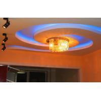 Remote Control 39w Pendant Crystal Light 800mm * 230mm Decorative Light Manufactures