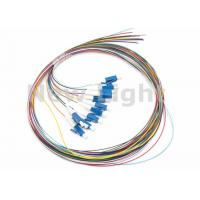 LC / UPC SM 12 Core Single Mode Fiber Optic Cable Color Coded Fiber Optic Pigtail Manufactures