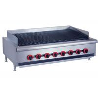 Counter Top Gas Char Broiler Durable Barbeque Gas Griller With Oil Collector Manufactures